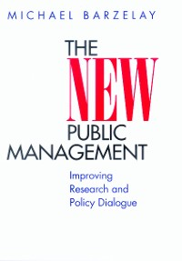 Cover The New Public Management