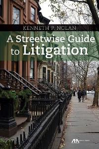 Cover A Streetwise Guide to Litigation