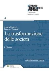 Cover La trasformazione delle società