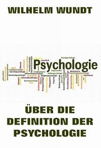 Cover Über die Definition der Psychologie