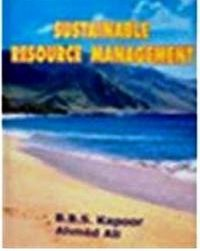 Cover Sustainable Resource Management