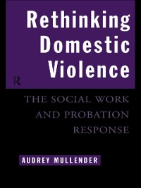 Cover Rethinking Domestic Violence