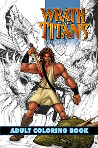 Cover Wrath of the Titans: Adult Coloring Book