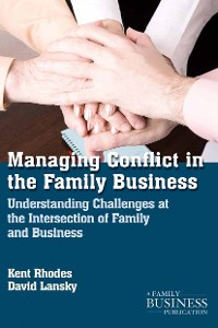 Cover Managing Conflict in the Family Business