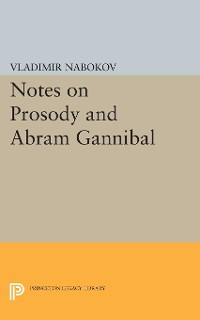 Cover Notes on Prosody and Abram Gannibal