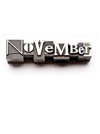 Cover November, A Month In Verse