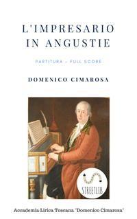 Cover L'impresario in angustie (Partitura - Full Score)