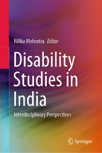 Cover Disability Studies in India