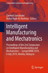 Cover Intelligent Manufacturing and Mechatronics