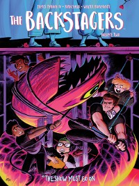 Cover The Backstagers Volume 2