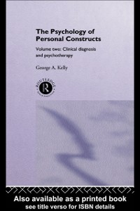 Cover Psychology of Personal Constructs