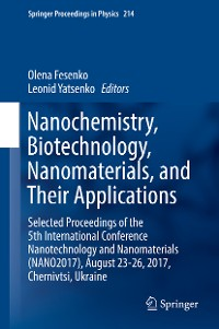 Cover Nanochemistry, Biotechnology, Nanomaterials, and Their Applications