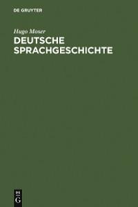 Cover Deutsche Sprachgeschichte