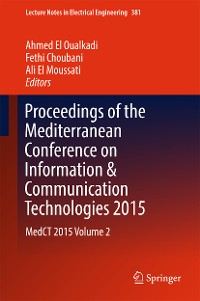 Cover Proceedings of the Mediterranean Conference on Information & Communication Technologies 2015