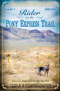 Cover Rider on the Pony Express Trail