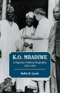 Cover K. O. Mbadiwe