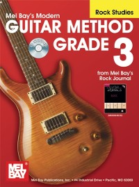 Cover &quote;Modern Guitar Method&quote; Series Grade 3, Rock Studies