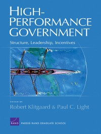 Cover High-Performance Government