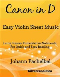 Cover Canon in D Easy Violin Sheet Music