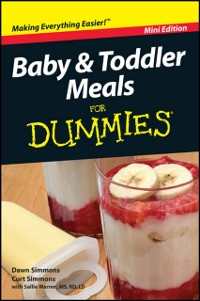Cover Baby and Toddler Meals For Dummies, Mini Edition