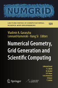 Cover Numerical Geometry, Grid Generation and Scientific Computing