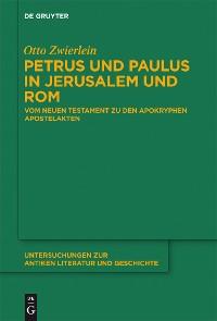 Cover Petrus und Paulus in Jerusalem und Rom