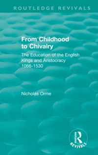 Cover From Childhood to Chivalry