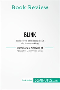 Cover Book Review: Blink by Malcolm Gladwell