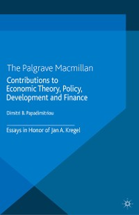 Cover Contributions to Economic Theory, Policy, Development and Finance
