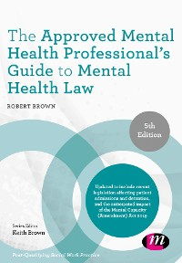 Cover The Approved Mental Health Professional's Guide to Mental Health Law