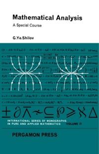Cover Mathematical Analysis