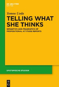 Cover Telling What She Thinks