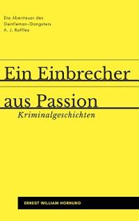 Cover Ein Einbrecher aus Passion