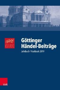 Cover Göttinger Händel-Beiträge, Band 20