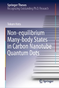 Cover Non-equilibrium Many-body States in Carbon Nanotube Quantum Dots