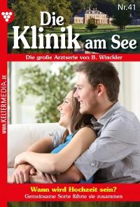Cover Die Klinik am See 41 – Arztroman