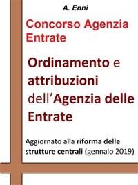 Cover Ordinamento e attribuzioni dell'Agenzia delle Entrate