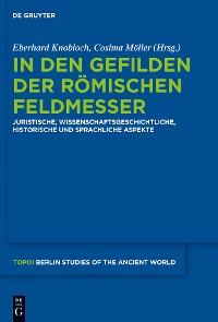 Cover In den Gefilden der römischen Feldmesser