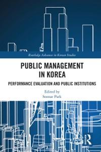Cover Public Management in Korea