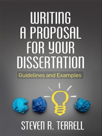 Cover Writing a Proposal for Your Dissertation