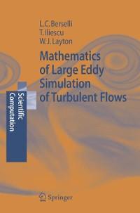 Cover Mathematics of Large Eddy Simulation of Turbulent Flows