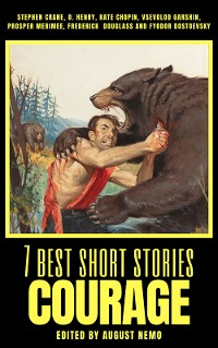 Cover 7 best short stories - Courage