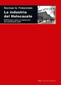Cover La industria del Holocausto