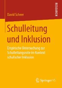 Cover Schulleitung und Inklusion