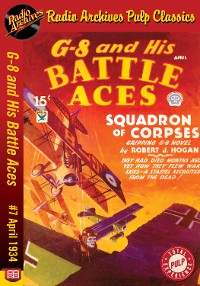 Cover G-8 and His Battle Aces #7 April 1934 Sq
