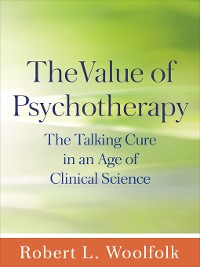 Cover The Value of Psychotherapy