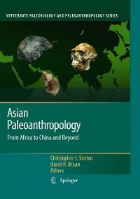 Cover Asian Paleoanthropology