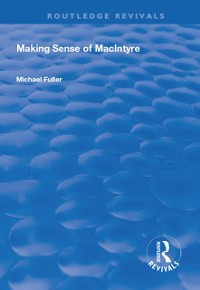 Cover Making Sense of MacIntyre