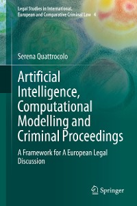 Cover Artificial Intelligence, Computational Modelling and Criminal Proceedings