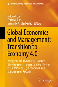 Cover Global Economics and Management: Transition to Economy 4.0